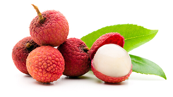 fruits lychee