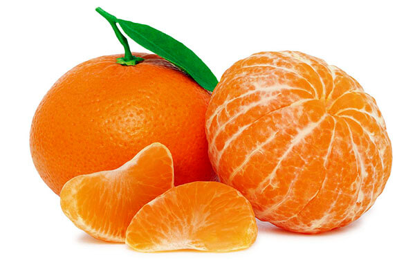 fruits tangerine