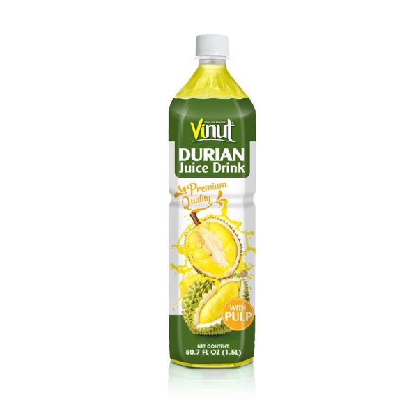 50.7 fl oz VINUT Premium Quality Durian Juice Drink with Pulp