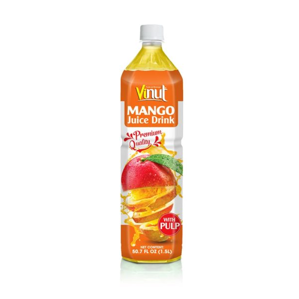 50.7 fl oz VINUT Premium Quality Mango Juice Drink with Pulp